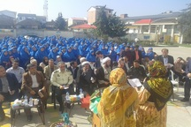 12 هزار دانش آموز آستارایی در جشن عاطفه ها شرکت کردند
