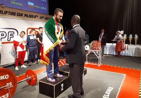 مدال نقره ایران در پاورلیفتینگ دانشجویان جهان