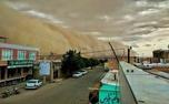 لحظه ترسناک ورود طوفان به آران و بیدگل + عکس