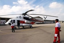 انجام 6 ماموریت امداد هوایی هلال احمر در چهارمحال و بختیاری