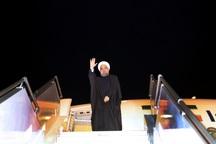 رییس جمهوری اهواز را به قصد تهران ترک کرد