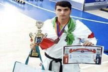 کاراته کای بوکانی مقام سوم مسابقات ارمنستان را کسب کرد