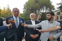 در دیدار ظریف و پوتین؛  بر غیرقابل مذاکره بودن برجام تاکید شد