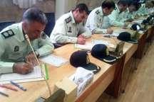 کتابت قرآن کریم توسط کارکنان ناجا در مشهد