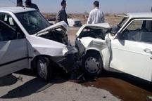 تصادف رانندگی در مهاباد 2 کشته و 6 زخمی برجا گذاشت