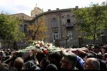 پیکر شهید دوران دفاع مقدس در تبریز تشییع شد