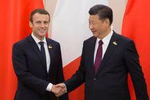 سران فرانسه و چین درمورد برجام گفت وگو میکنند