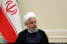 پیام تبریک رئیسجمهور روحانی به بشار اسد