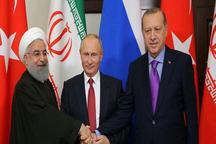 نشست سه جانبه روسای جمهور ایران ، روسیه و ترکیه در شهر سوچی آغاز شد