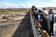 دکتر روحانی از مناطق سیل زده آذربایجانشرقی بازدید کرد