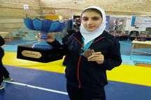 دانش آموز البرزی در مسابقات ووشو بانوان کشور مقام سوم را کسب کرد.