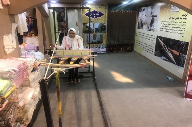 کارگاه زنده هنرهای خراسان جنوبی در نمایشگاه تهران دایر است