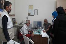 طرح ویزیت رایگان بیماران در هلال احمر پیشوا اجرا شد