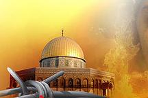 روز قدس روز رسوایی و عزا آمریکا و اسرائیل غاصب است