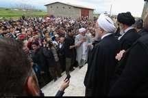 رئیس جمهوری: دولت در کنار سیل زدگان گلستان است