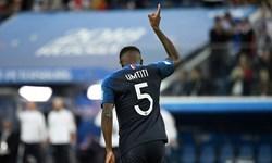 اومتیتی: مثل سال 98 قهرمان جام جهانی خواهیم شد
