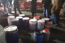 توقیف یک کارگاه مشروبات الکلی در کرج