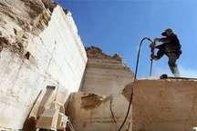 57 فقره پروانه بهرهبرداری معدنی در شهرستان سربیشه صادر شد