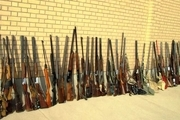 کشف 342 قبضه سلاح غیرمجاز در خوزستان