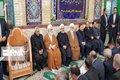 مراسم ترحیم مرحومه فریدون با حضور حسن روحانی برگزار شد