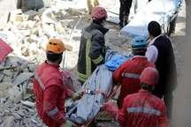 ریزش دیوار یک کشته و سه زخمی برجا گذاشت