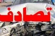 برخورد دو خودروی سواری در جاده سوادکوه یک کشته برجای گذاشت