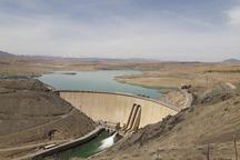 ذخیره سد زاینده رود در مقایسه با سال 96 کمتر شده است