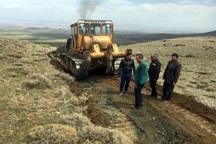15 کیلومتر جاده بین مزارع در چاراویماق بهره برداری شد