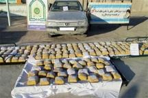 کشف بیش از 2 هزار و 100 نخ سیگار قاچاق در بویین زهرا   کشف 13 کیلوگرم تریاک در قزوین