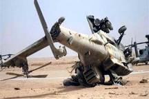 انصار الله یمن یک بالگرد آپاچی عربستان را سرنگون کرد
