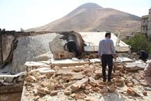 تصاویر | انفجار منزل مسکونی در سنندج