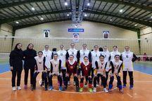 دختران والیبالیست آذربایجانغربی نخستین گام را محکم برداشتند