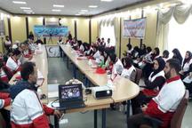 برگزاری اردوی آموزشی تیم های درمان اضطراری هلال احمر گیلان
