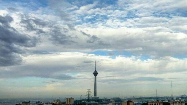 کاهش ابر برای تهران پیش بینی شد