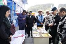 80 ایستگاه نوروزی پلیس در مازندران به مسافران خدمات ارائه می کند
