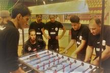 تیم فوتبال روی میز آباده به لیگ برتر کشور صعود کرد