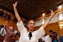 عکس/ خانم دکتر داروسازی که شهردار تونس شد