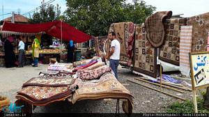 چهارشنبه بازار روستای سلیمان آباد تنکابن