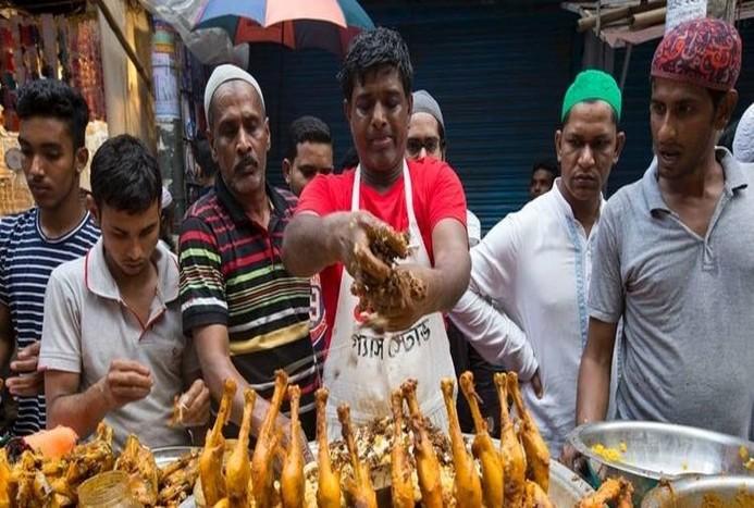 بازار اندونزی در ماه مبارک رمضان + تصاویر