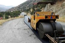 عملیات آسفالت مسیر روستایی اورامان به هجیج در کردستان