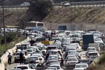 ترافیک نیمه سنگین در تمامی محورهای خروجی تهران