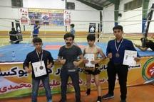 درخشش ورزشکاران جیرفتی در مسابقات کیک بوکسینگ قهرمانی کشور