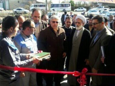 افتتاح کارگاه تولید مصنوعات چوبی در روستای شنبه بازار