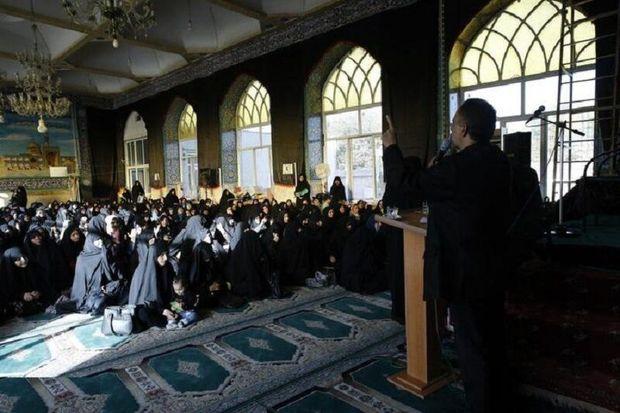 همایش رهروان زینبی در استان قزوین برگزار شد