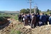 هیاتی از کمیسیون اصل 90 از محل حادثه سیل شیراز بازدید کردند