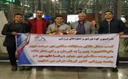 بازگشت رضا علیپور پس از کسب مدال طلا به ایران + عکس