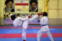 بانوان کاراته کار باقرشهری در مسابقات کشوری خوش درخشیدند