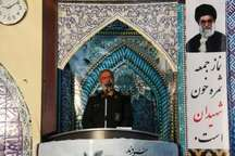 نتیجه جانفشانی شهدا قدرت کنونی ایران و ناتوانی دشمنان اسلام است