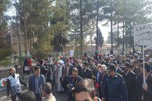 حضور مردم کرمان در راهپیمایی 22 بهمن پررنگتر از گذشته بود
