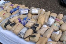 پلیس خراسان شمالی 212 کیلوگرم مواد مخدر کشف کرد